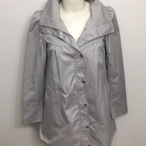 H&M Light Gray Coat Size Large